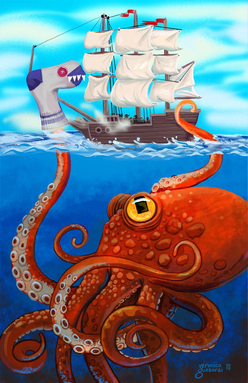 kraken sockpuppet fullcolor11x17