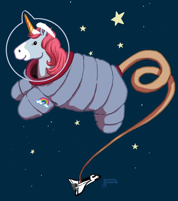 Today's Mood; SPACE UNICORN