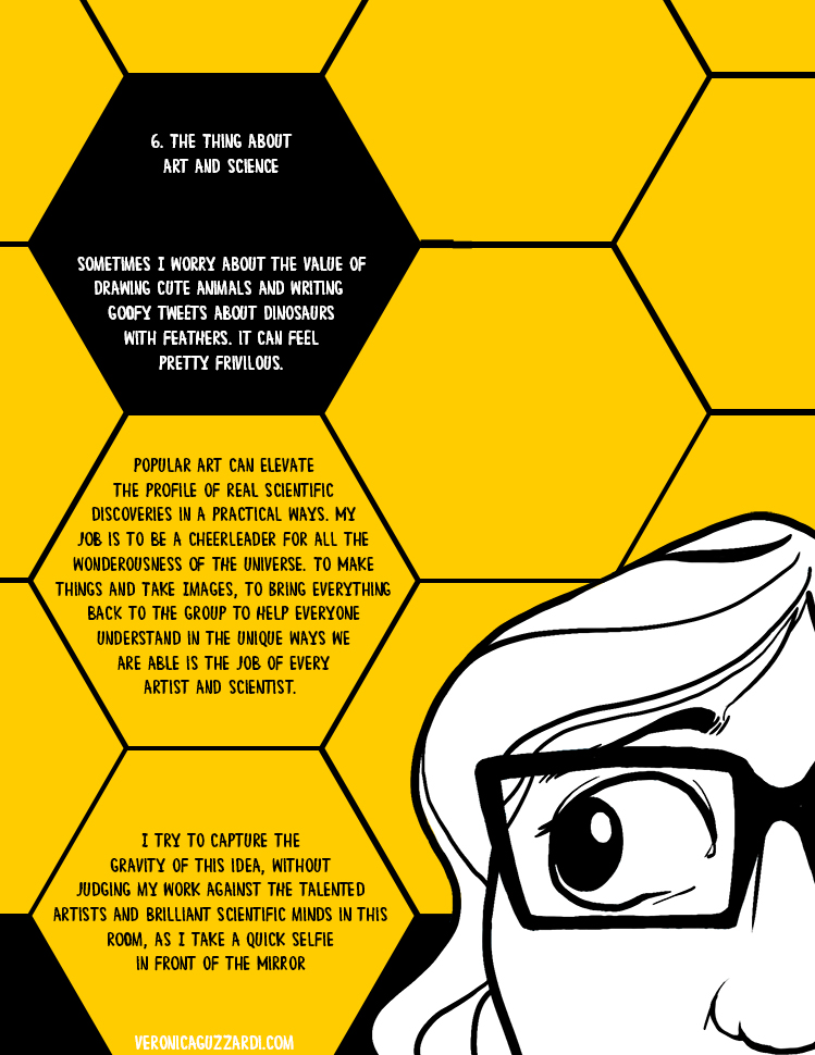 What I Can See, Page 6: The Thing About Art and Science